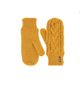 Варежки женские Afra Mittens   Желтый Eisbär — фото 1